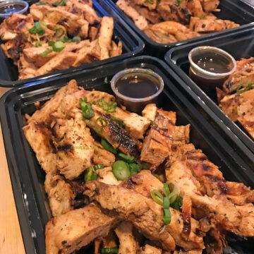 Bulk Teriyaki Chicken