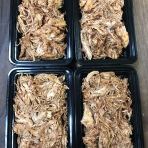 Bulk Shredded BBQ Chicken